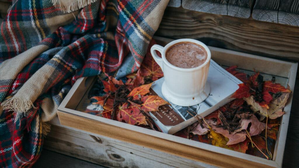 Un bon chocolat chaud c'est réconfortant!